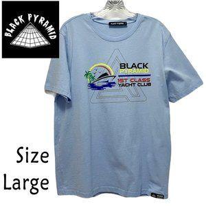 Black Pyramid 1st Class Yacht Club T Shirt Size L